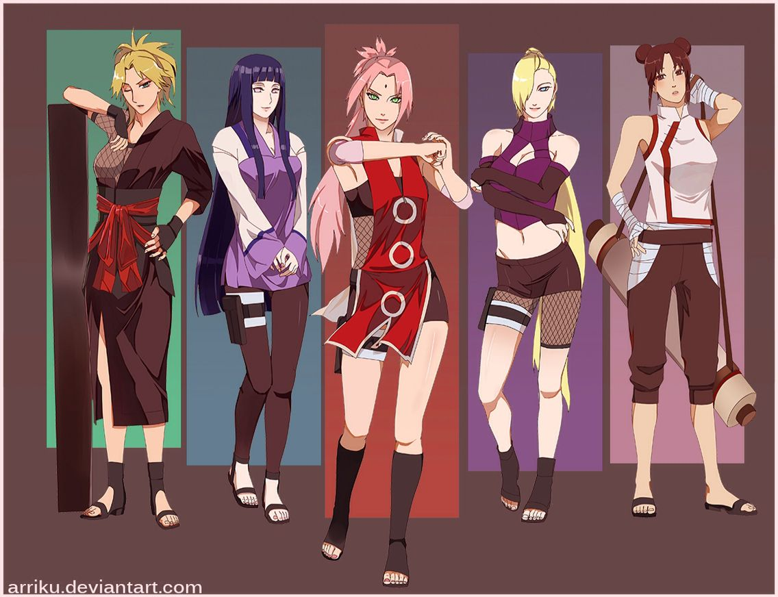 from Truman all girl characters from naruto nude