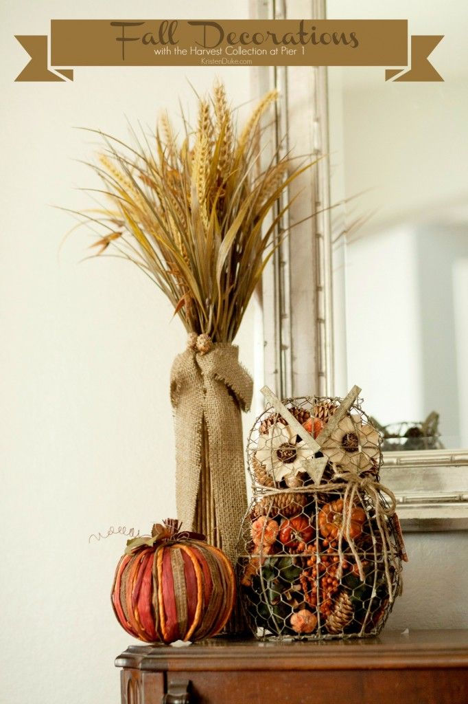 Fall decorations at pier decoration decor and
