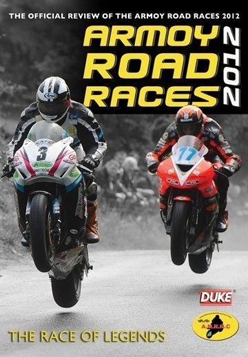 Armoy Road Races - Official Review 2012 (New DVD) Motorcycle sport  Also available from our website at www.sonusmedia.co.uk