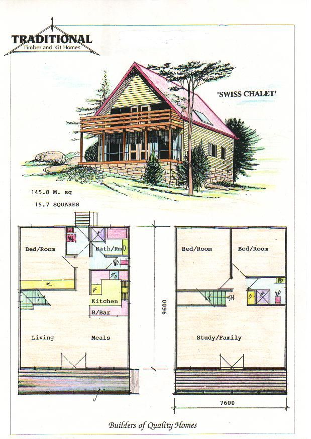 Traditional swiss homes plans traditional homes pty for Swiss house plans