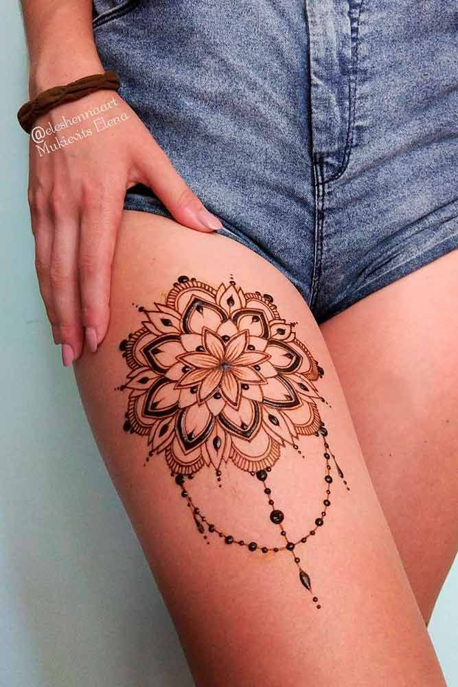 Beautiful Henna Tattoo Designs and Useful Info About It