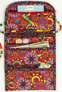 fabric wallet pattern free | fabric wallet purse designed by nellie mueller this multi compartment