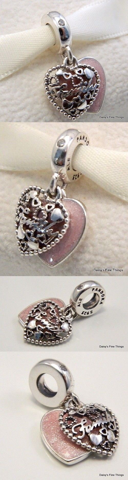 1e08d39a9 ... usa charms and charm bracelets 140944 new authentic pandora charm love  makes a family dangle be64c
