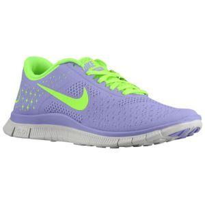 reputable site 12401 eb6e7 Nike Free Run 4.0 - Women s - Running - Shoes - Medium Violet Electric Green