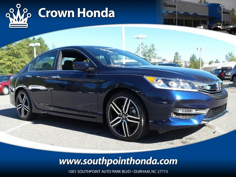 New 2016 Honda Accord Sport For Sale Serving Raleigh, NC