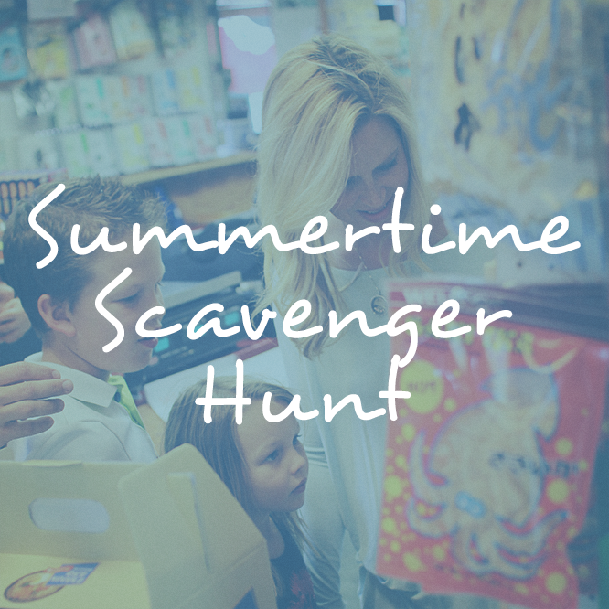 Summertime Summertime, Staycation, Photo scavenger hunt