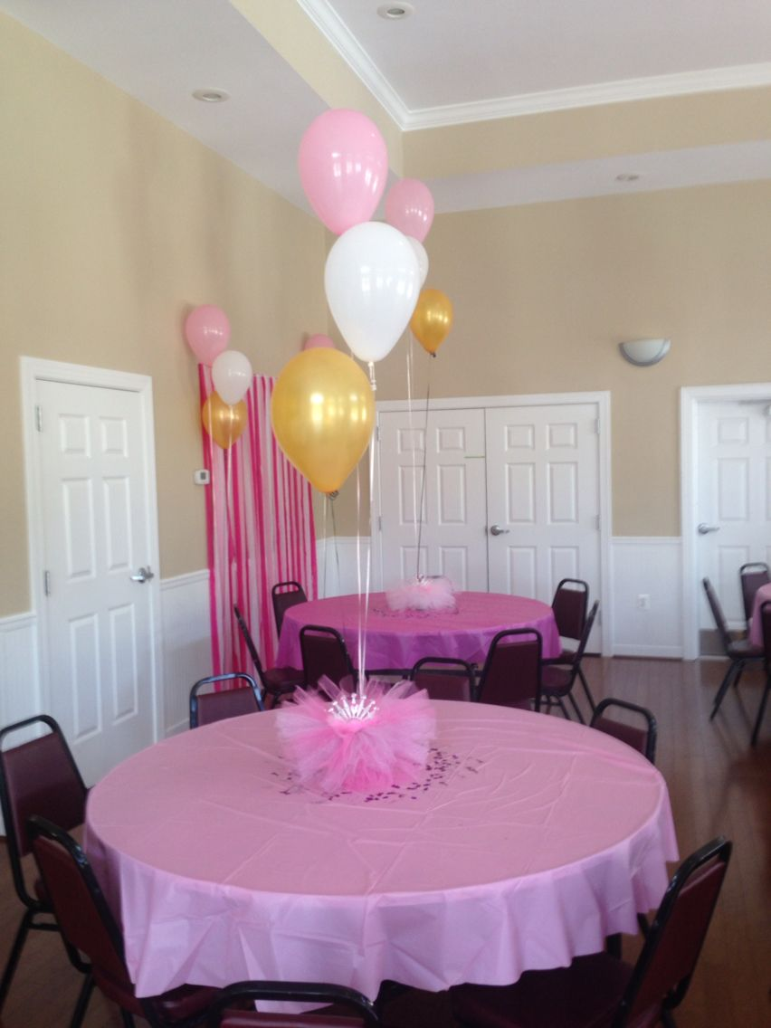 From my daughter baby shower. Princess themed. I made the ...