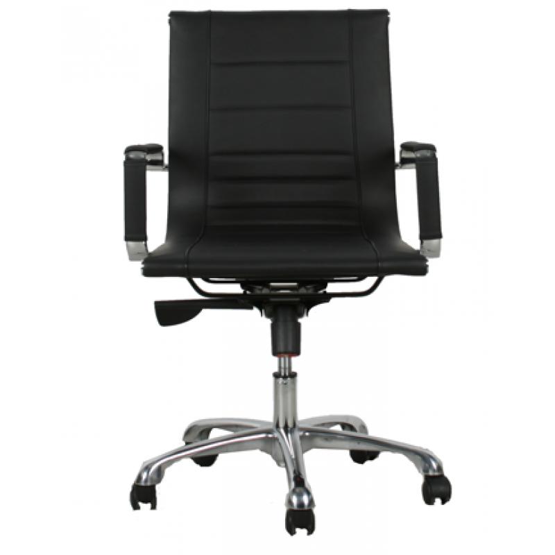 Vitra Meda Bureaustoel.Bureaustoel Hendea Low Zwart Small Office Chair Desk Chair