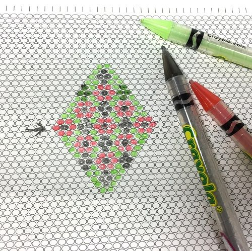 Useful Free Printable Graph Paper for Different Beading Stitches - triangular graph paper
