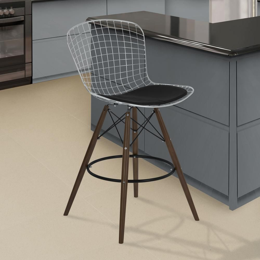 Excellent Armen Living Bar Stools Barhocker Barhocker Hocker Und Bar Dailytribune Chair Design For Home Dailytribuneorg