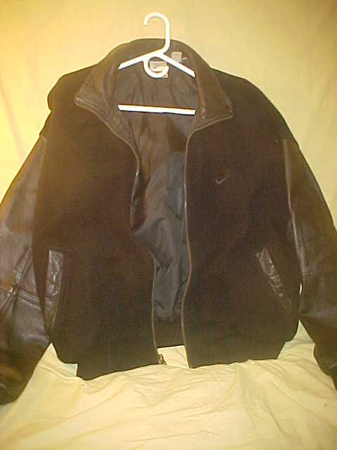 Nike Force Black Letter Jacket size Men's by VintageAudioPlus