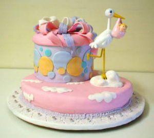 Tortas Y Pasteles Para Baby Shower 36