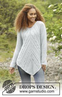 b3d3b0ef21d Damer - Gratis opskrifter af DROPS Design   Strik   Sweater knitting ...