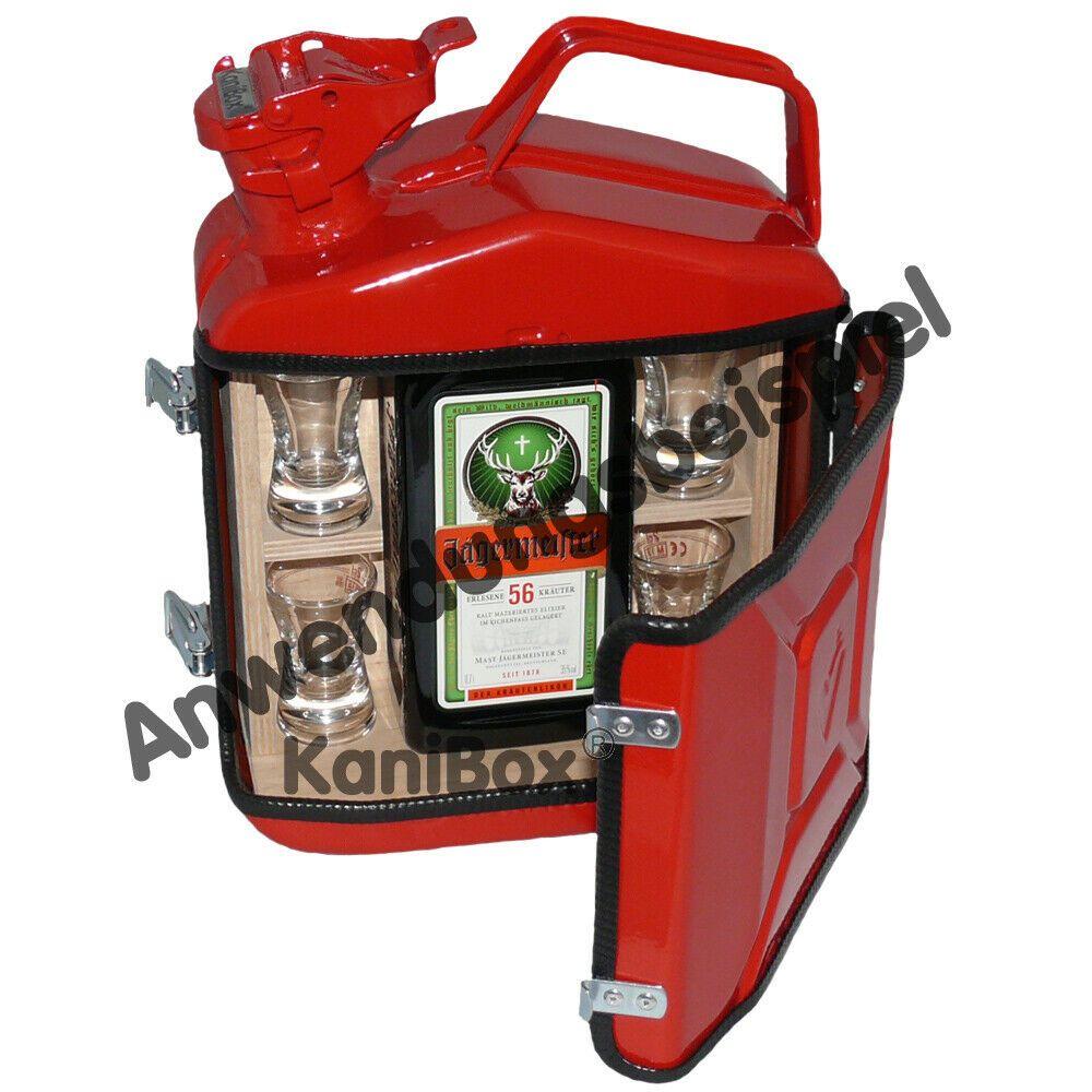 Benzinkanister MiniBar rote KanisterBar als tolle Männer