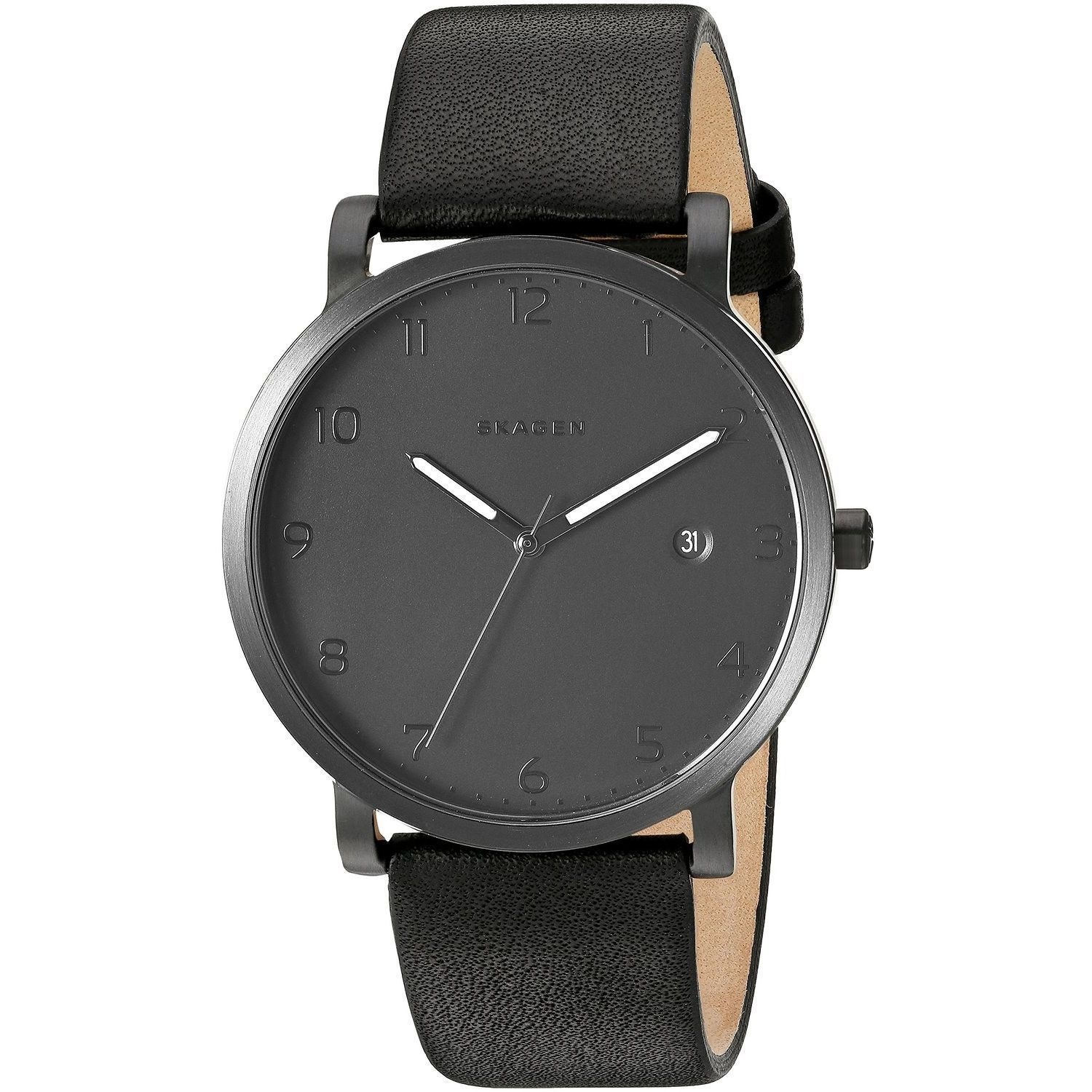 watches hybrid gallery connected skagen in black hagen accessories lyst smartwatch