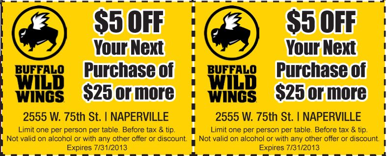 photograph relating to Buffalo Wild Wings Printable Coupons titled Pin via Chot Woos upon Buffalo wild wings in just 2019 Buffalo