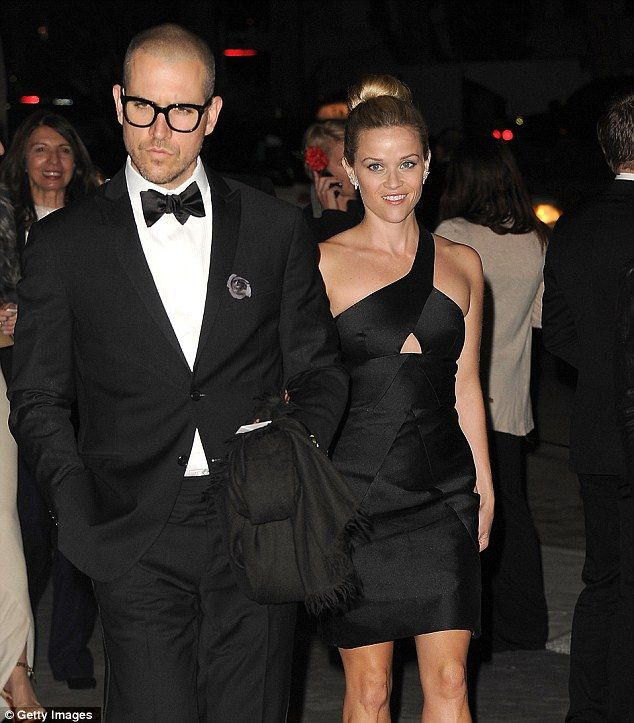 Power couple: Jim Toth and Reese attend a gala event at the LA County Museum in November last year
