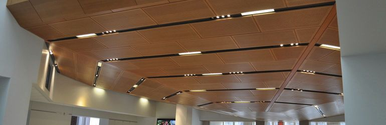 Drop Ceiling Wood Panel Office Google Search General