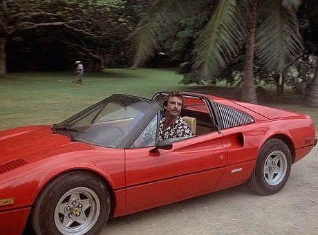 Ferrari 308 GTS of Magnum (Tom Selleck) - Magnum | Ferrari ...