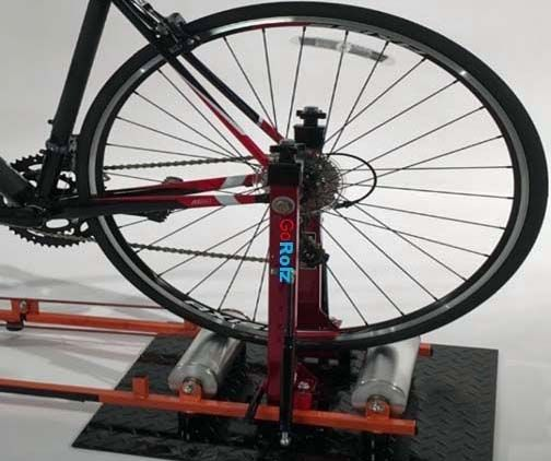 Have Bike Rollers At Home Attach The Gorolz Stand And You Ll