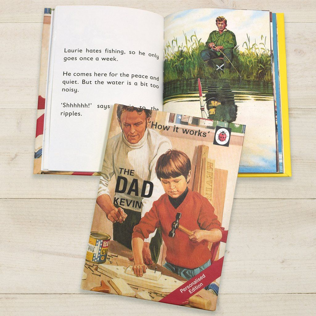 The Dad Personalised Ladybird Book For Adults S