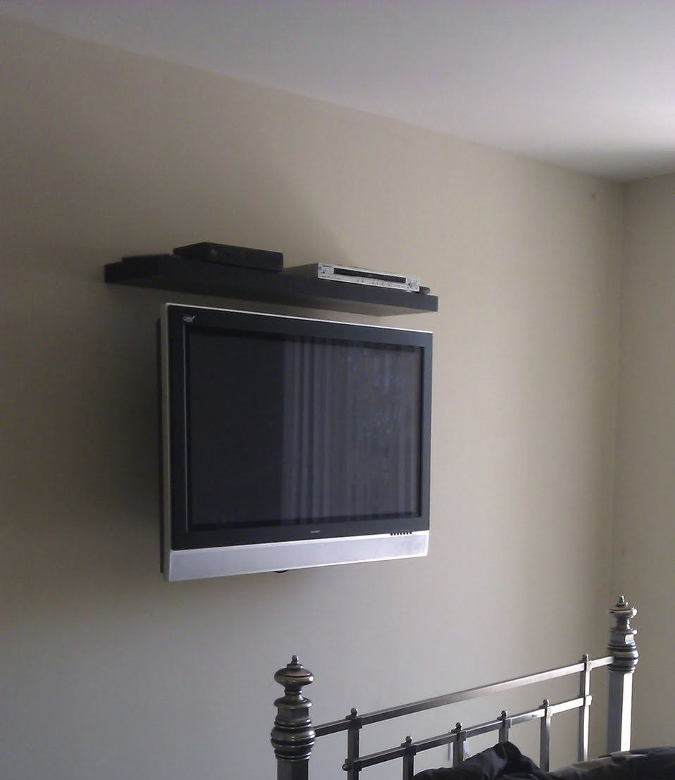 Nice Clean Install With No Wires Showing And A Perfect