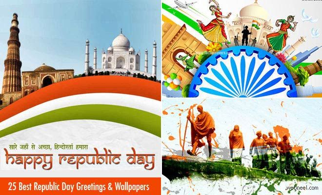 25 Beautiful Happy Republic Day Wishes and Wallpapers http://webneel.com/happy-republic-day-wishes-wallpapers | Design Inspiration http://webneel.com | Follow us www.pinterest.com/webneel