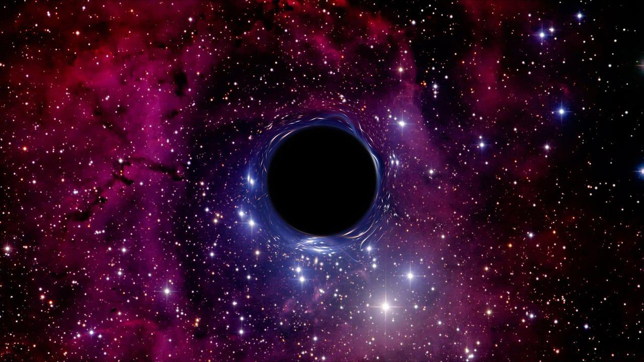 Schwarzes Loch Im Niemandsland Schwarzes Loch Physik Lichtjahr
