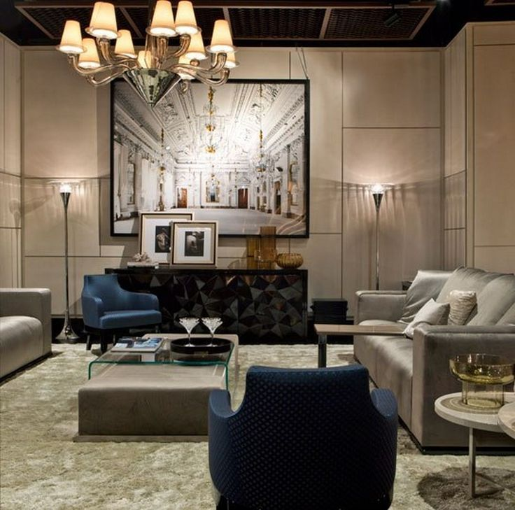 Fendi Casa Luxury Living Room Design Living Showroom Luxury Living Room