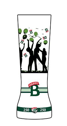 #happyB Création Verre Bofferding