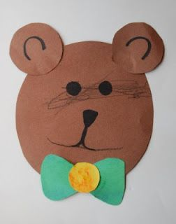 ccf8a932daf Letter B  Bear with bowtie.