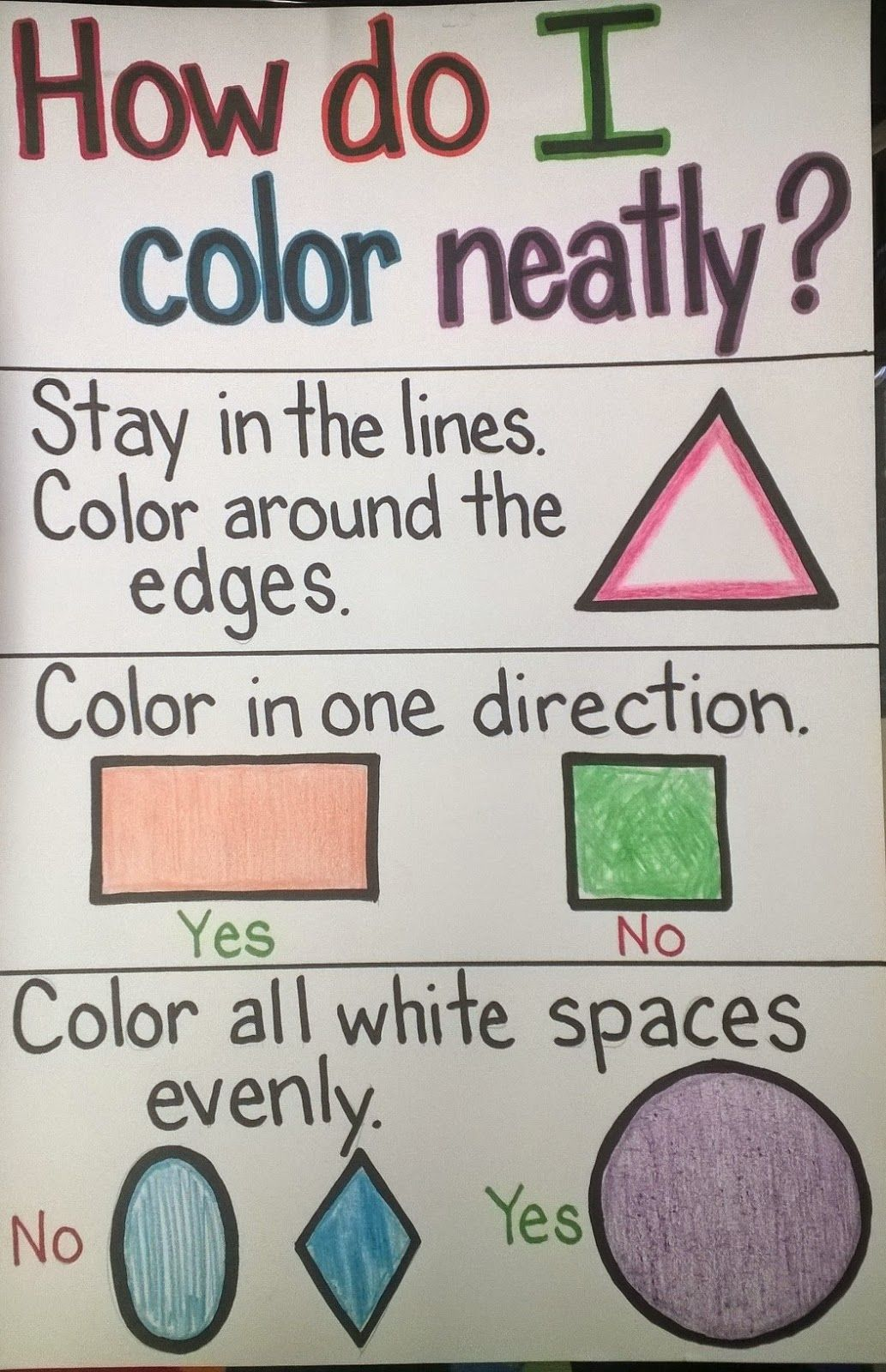 How To Color Neatly Google Search Whole Brain Teaching Reading Display Beginning Of School