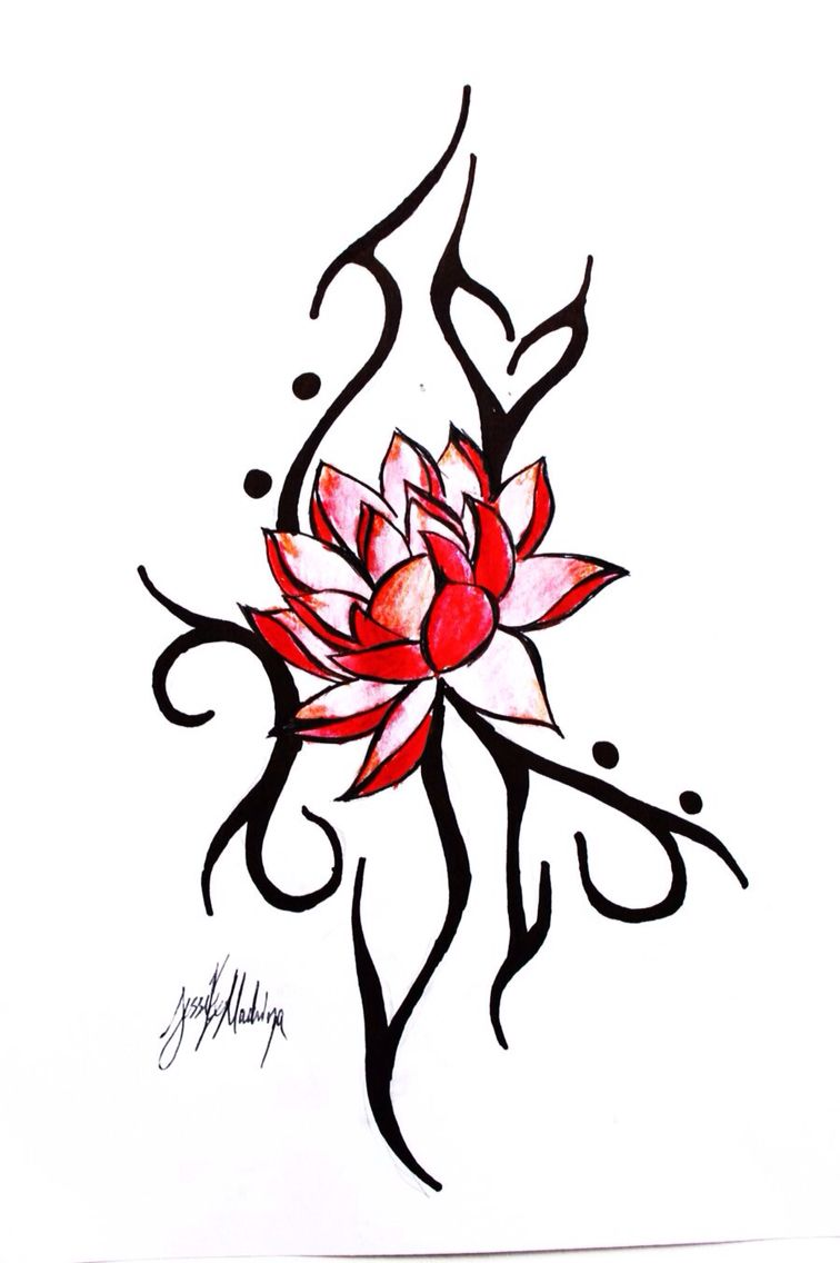 Red Lotus Tattoo Concept Tattoo Pinterest Red Lotus Tattoo