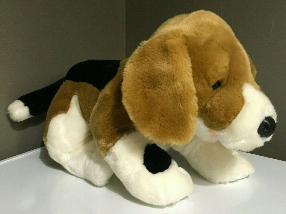 Build A Bear Workshop Plush Beagle Puppy Dog Stuffed Animal 14