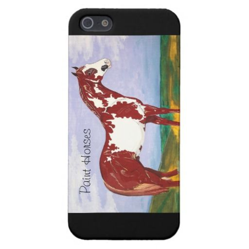Paint Horses ~ iPhone Savvy Case Covers For iPhone 5