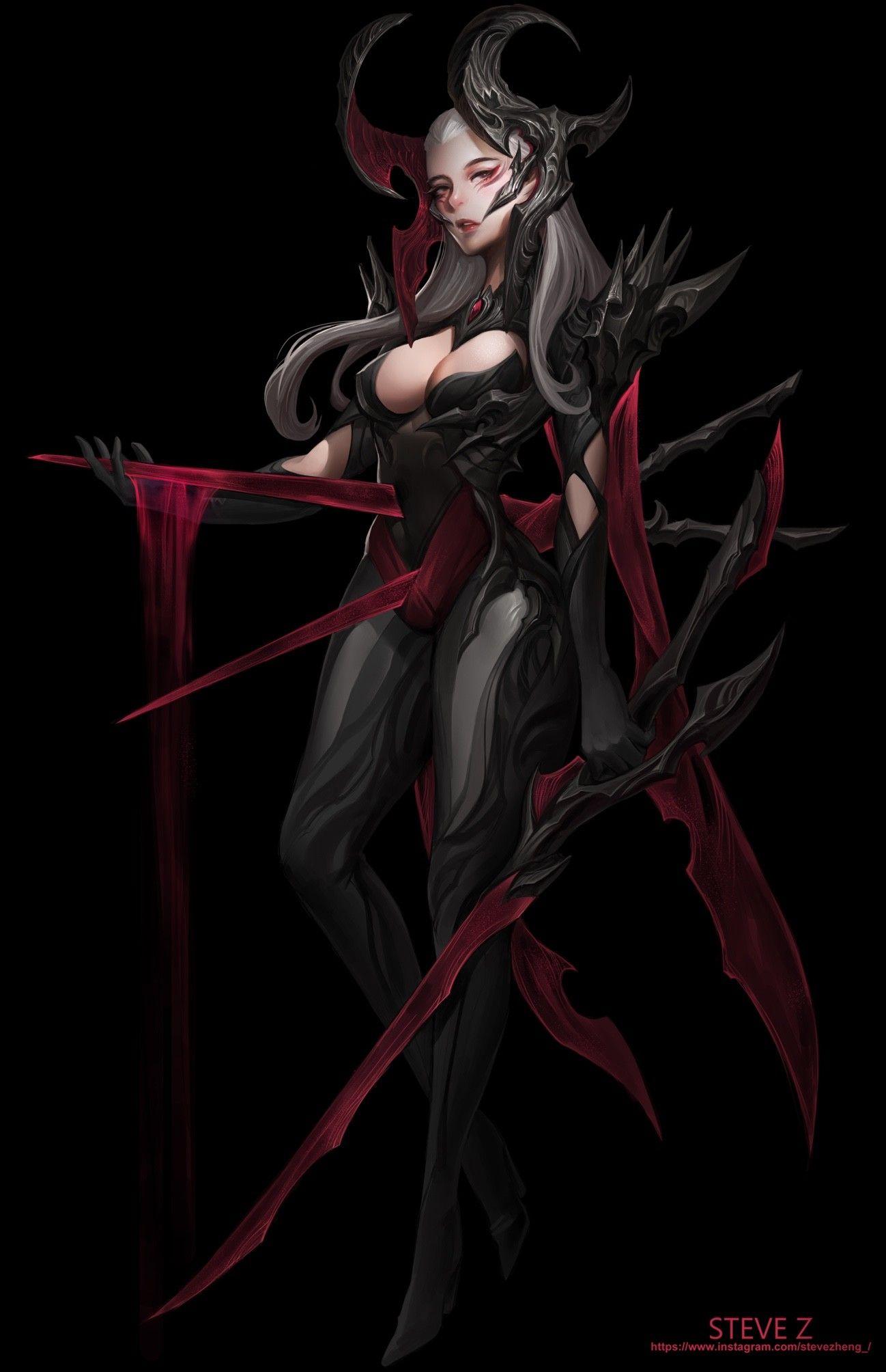 ArtStation - Seven Sins--Wrath, Steve Zheng   character