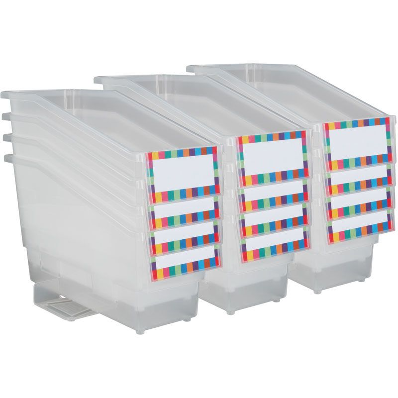 Durable Book And Binder Holder With Stabilizer Wing And
