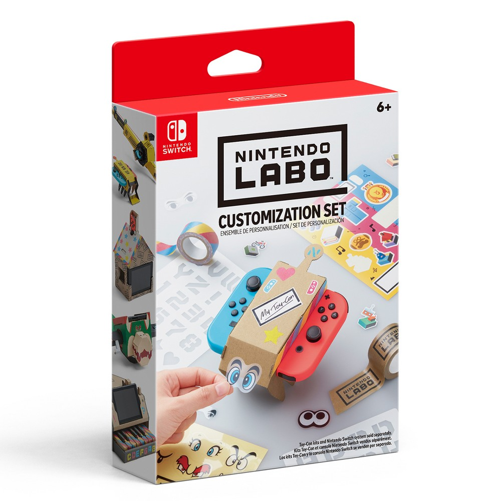 Nintendo Labo Customization Set Nintendo Nintendo Switch Games