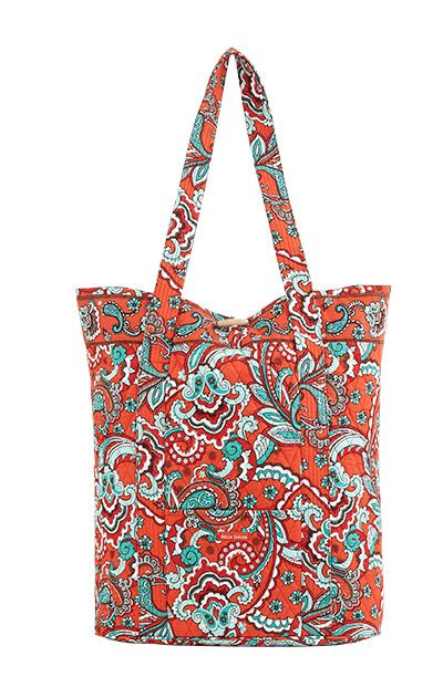 Bali Bright Carry All - No need to pick and choose with this spacious tote, carry it all. Made of 100�0Cotton and features the following: Inside features: Measures 18
