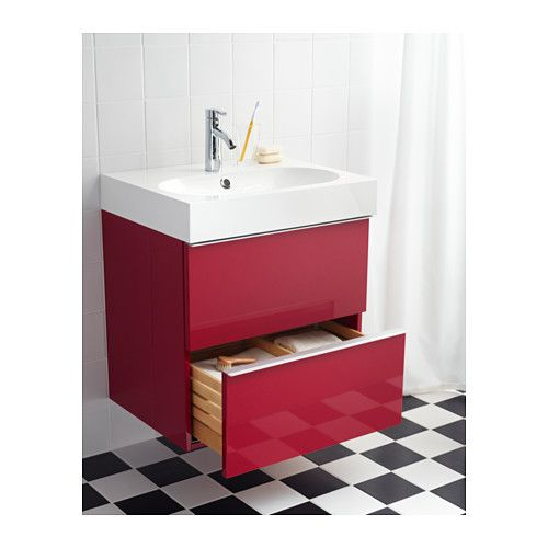 GODMORGON/BRÅVIKEN Sink Cabinet With 2 Drawers IKEA 10 Year Limited  Warranty. Read