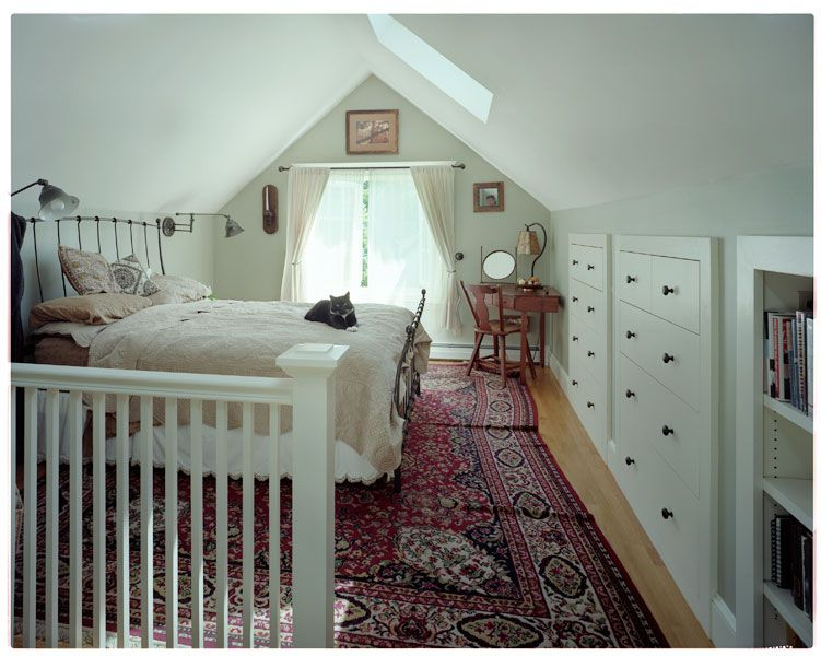 Trimitsis woodworking storage in the eaves ideas for for Attic room