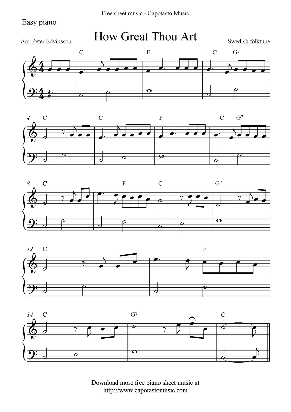 Gargantuan image inside free printable piano sheet music for beginners with letters