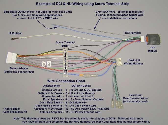 16 sony car stereo wiring harness diagramsony car stereo