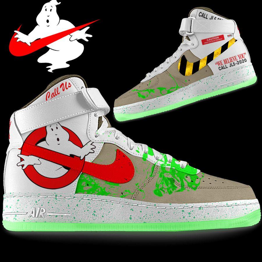 Design idea for custom Ghostbusters Nike Kicks  c9a886511
