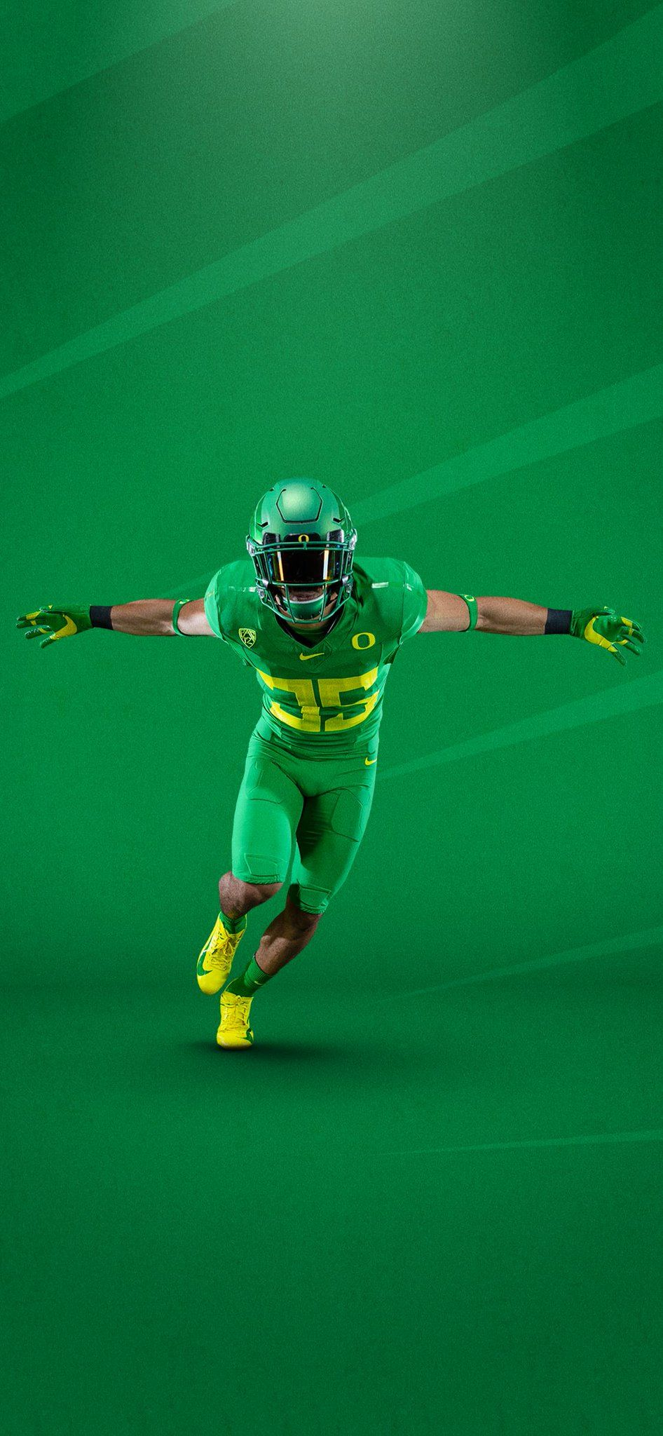 Oregon Football Wallpaper : oregon, football, wallpaper, University, Oregon, Ducks, Football, Uniforms, Green, Football,, Wallpaper
