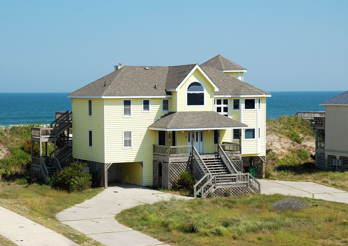 Tequila Sunrise J is an Outer Banks Oceanfront vacation