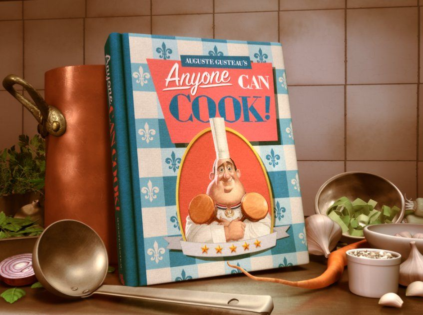 Cualquiera Puede Cocinar Camion De Comida Ratatouille Recetas
