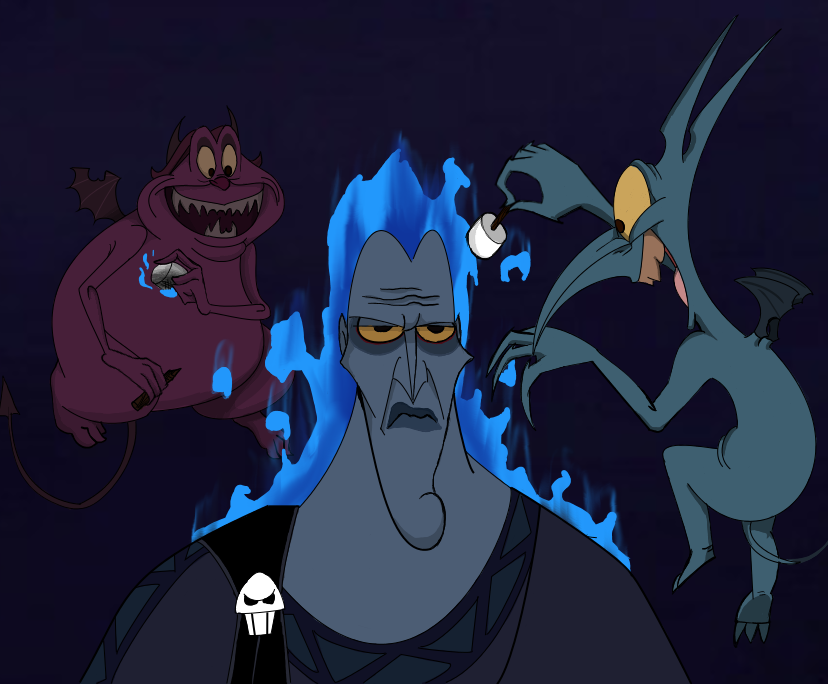 Request: Pain and Panic Roasting Hades by Inuyashatotalfire on DeviantArt