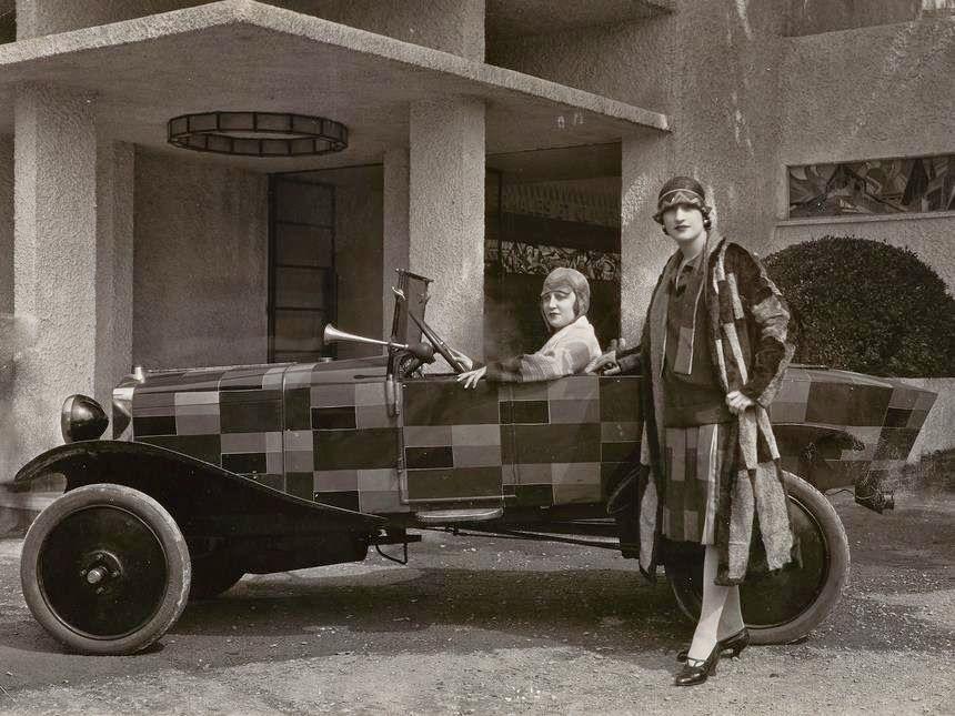 sonia delaunay  citro u00ebn 5 cv  u2013 photographie de 1925 de