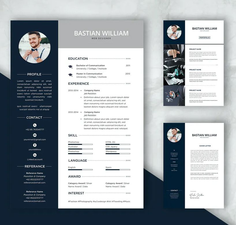 Professional Cv And Resume Template Ai Psd Resume Template Professional Cv Resume Design Template
